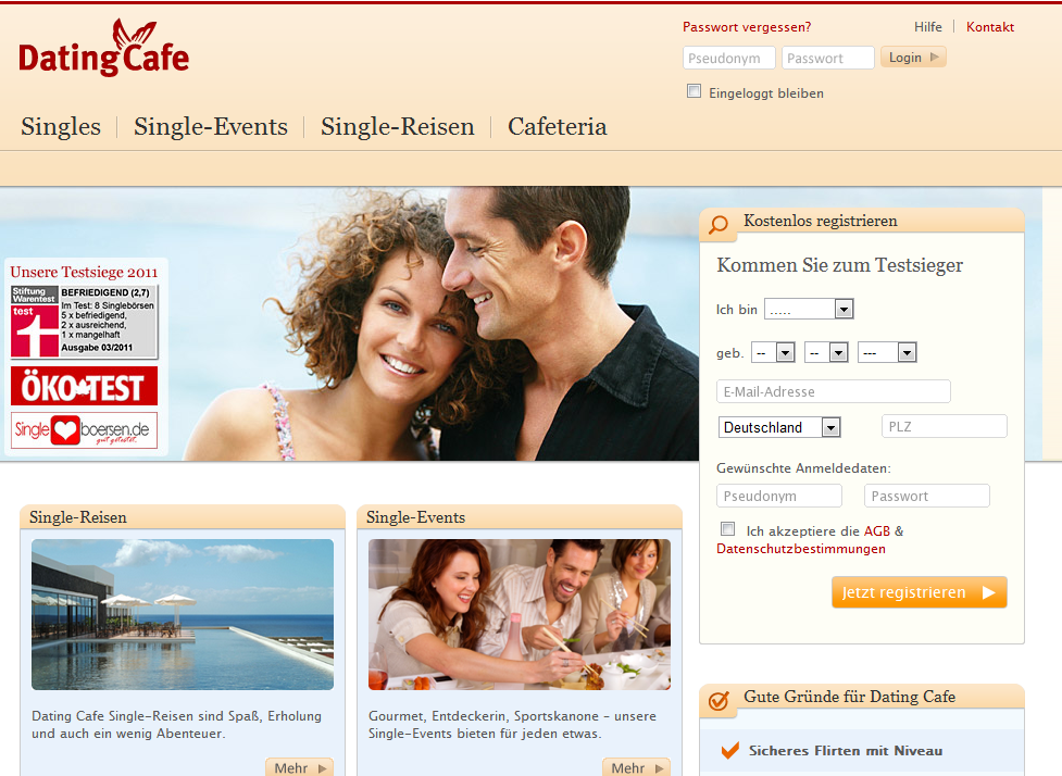 Germany dating site for free